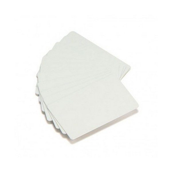 Cartes PVC blanches Zebra