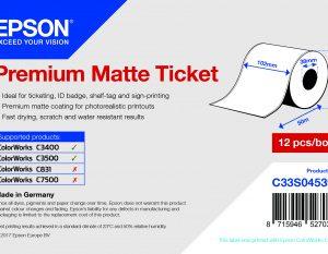 Talistore - étiquettes Premium matte