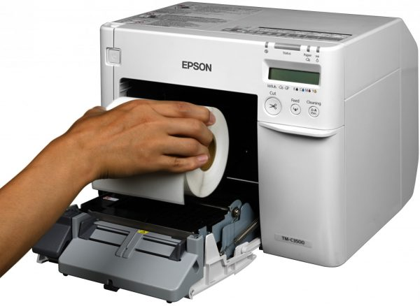 TM-C3500ruban - imprimante à carte talistore