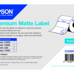 Premium Matte Label – Die-cut Roll