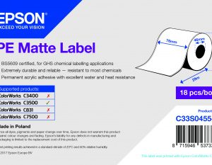 Imprimante carte - étiquette epson