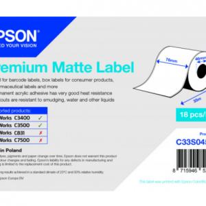 rouleau Premium matte18 pour imprimante talistore