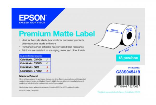 Imprimante thermique rouleau Premium matte19